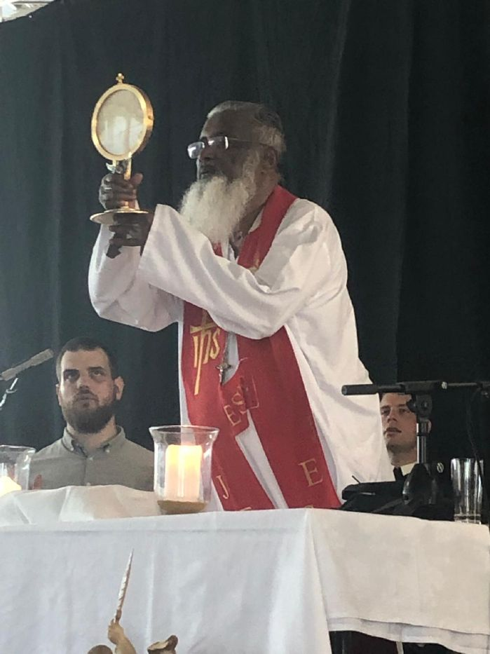Photos and reports of the preaching ministry of Fr  James 2019
