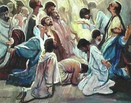 Nueva instrucción a los apóstoles Pentecost2003