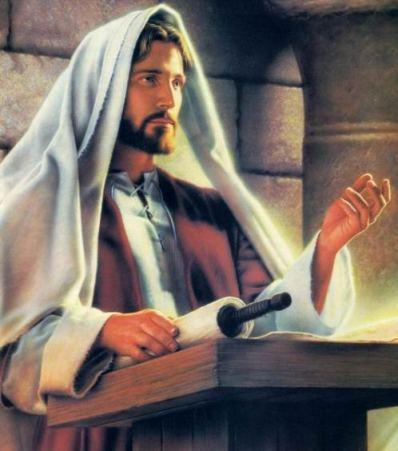 Ježíš kázající